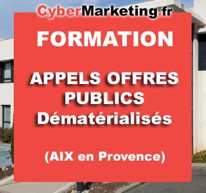Formation Comment répondre à un appel d'offre public dématérialisé – Aix en Provence – 05/12/2017
