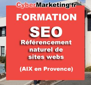 Formation référencement naturel de sites webs (SEO) – Aix en Provence – 06/12/2017